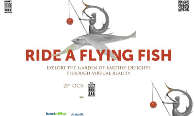 Ride a Flying Fish is a VR experience that explores a 500 year old painting by Hieronymus Bosch A Garden of Earthly Delights.