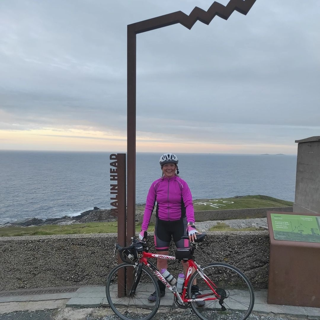 Stand up and move Anthony Foley's sister Orla undertook a 3,000km cycle earlier this year to raise vital funds for CARI.