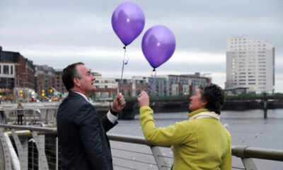 Clionas Foundation Charity Impact Awards - Pictured above are Brendan and Terry Ring, co-founders of Cliona's Foundation