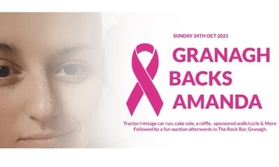 granagh backs amanda Granagh Backs Amanda – Amanda was diagnosed with breast cancer in February 2021