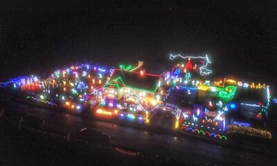 Hayes Family Christmas Lights will be switched on and available for the public to view from Saturday, November 6