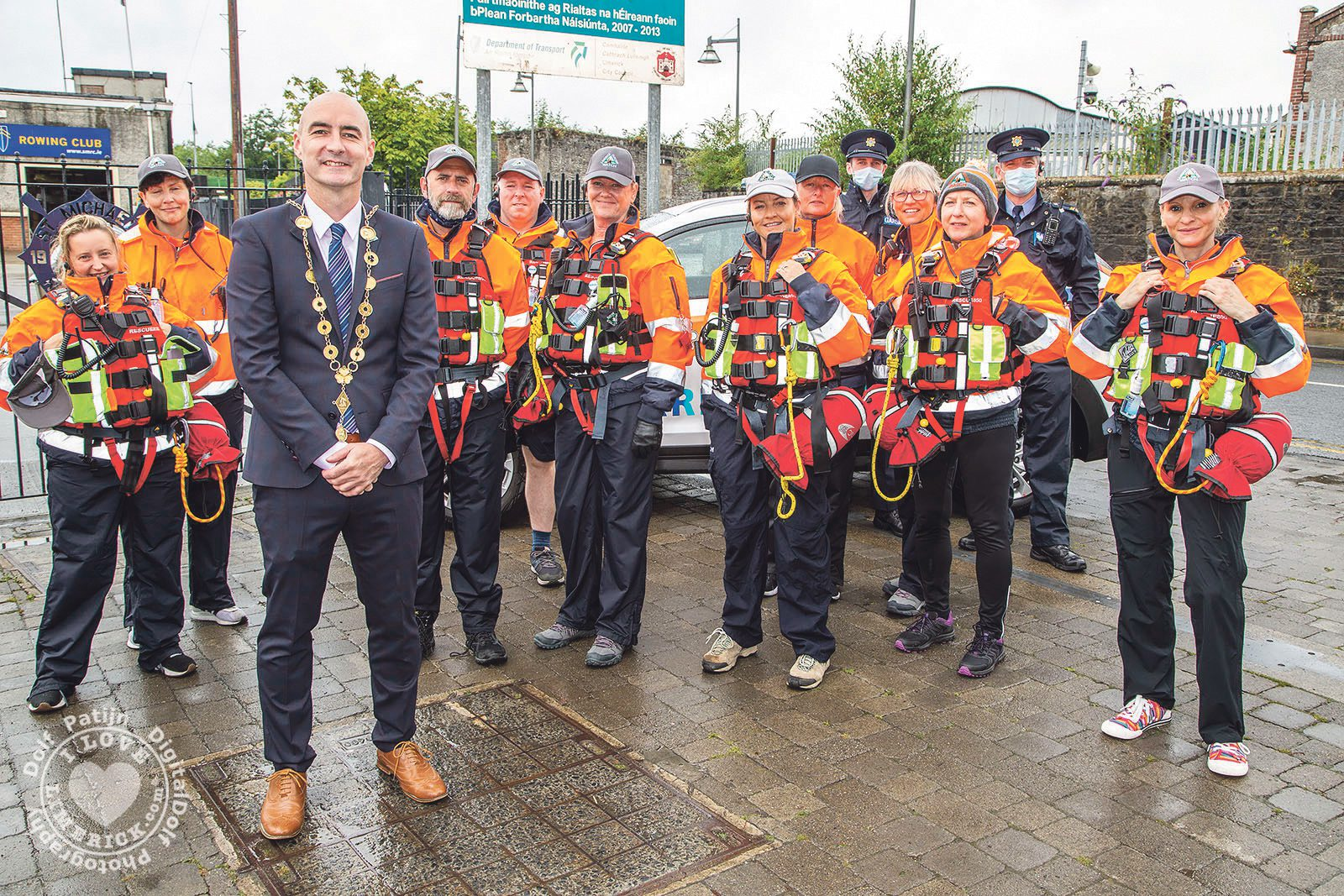 Limerick Suicide Watch Outreach Service – The team will visit different communities once a week to reach out to more people and help raise awareness about mental health and suicide. Picture: Farhan Saeed/ilovelimerick