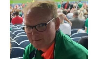 Padraic Kearney pictured above was 47 years old when he collapsed suddenly while walking away from Croke Park, following Limerick's All Ireland hurling win.