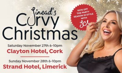 Sineads Curvy Christmas 2021 will be coming to Limerick on Sunday, November 28, and tickets go on sale on Wednesday, October 20