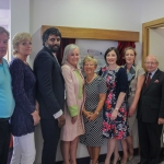 L to R: Mr Jim Canny, Chairman Mid-Western Hospital Development Trust, Nollaig Lonergan, Trust Administrator, Mr Ashish Lal, Consultant Breast Surgeon, Colette Cowan, CEO UL Hospitals Group, Ms. Helen Leo, Breast patient, Ms. Anne Merrigan, Consultant Breast Surgeon, Shona Tormey, Consultant Breast Surgeon, Prof Niall O' Higgins, Chairman UL Hospitals Board, Dr Jerome Coffey, Programme Director NCCP. Picture by Cian Reinhardt/ilovelimerick.