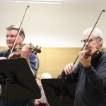 Pictured at the Irish Chamber Orchestra Studio in the University of Limerick for the Keep Lyric in Limerick protest on November 14, 2019. Pictures: Anthony Sheehan/ilovelimerick.