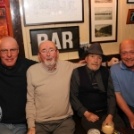 Pictured at the Charlie Malones bar for the presentation of the the Acoustic Club's cheque of €800 to the volunteer organisation Limerick Land Search Team. Picture: Conor Owens/ilovelimerick.