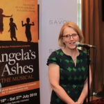 Pictured at the Savoy hotel for the launch of the smash-hit musical Angela's Ashes. Picture: Conor Owens/ilovelimerick.