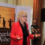 Pictured at the Savoy hotel for the launch party of the smash-hit musical Angela's Ashes is Patrica Moylan. Picture: Conor Owens/ilovelimerick.