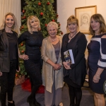 Pictured at the launch of 'Putting Names on Faces (Confessions of a Portrait Stalker)' were Erin Hartigan, Tara Hartigan, Barbara Hartigan, Cathy O'Halloran, RTE and Clare Hartigan. Picture: Cian Reinhardt/ilovelimerick