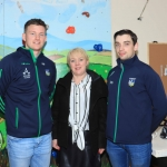 Pictured at the Launch of the Bedford Row Family Project's pre-qualifier competition held on May 18th for the JP McManus Pro-AM 2020 are Kevin Downes, Tracy Tobin and Seanie Tobin. Picture: Conor Owens/ilovelimerick.