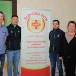 Pictured at the Launch of the Bedford Row Family Project's pre-qualifier competition held on May 18th for the JP McManus Pro-AM 2020 are Dermot Tobin, Kevin Downes, Seanie Tobin and Helen Fennessy. Picture: Conor Owens/ilovelimerick.