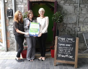 July Limerick Tidy Towns Award goes to Cellar Door