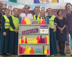Nationwide campaign brings 'Bin It' workshop to Limerick schools