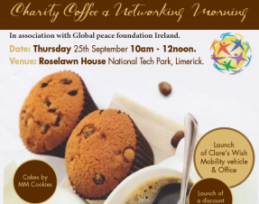 Clare's Wish Foundation Coffee Morning