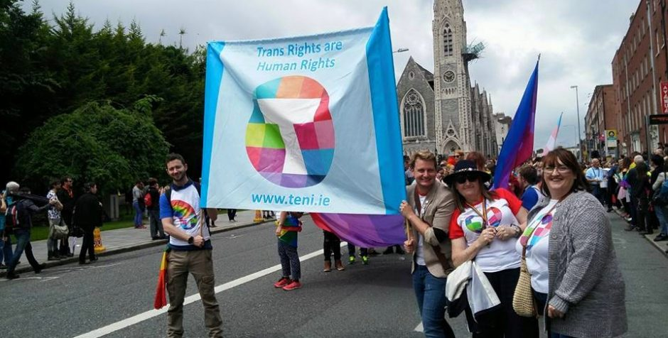 Broden Giambrone First Limerick Pride Trans Grand Marshal