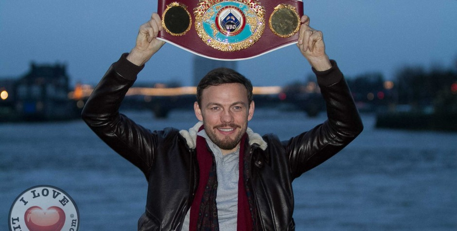 PHOTOS – WBO Middleweight World Champion Andy Lee