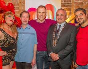 PHOTOS & VIDEO Limerick Pride 2015 launch at Dolan's Warehouse