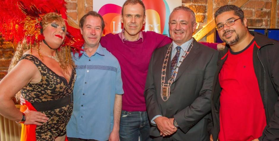 PHOTOS & VIDEO Limerick Pride 2015 launch at Dolan's Warehouse