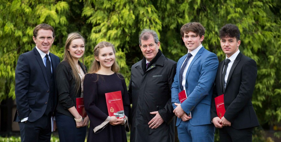 All Ireland Scholarships 2015 with AP McCoy