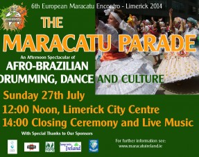 6th European Encontro of Maracatu