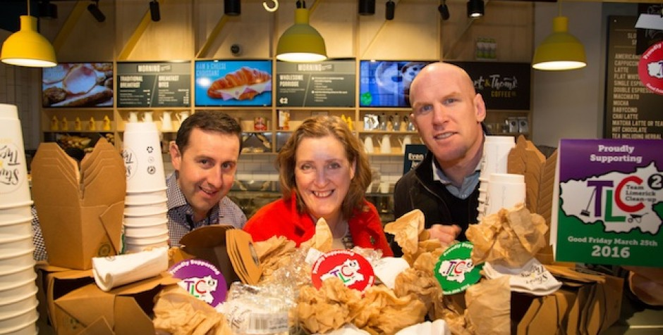 Team Limerick Cleanup2 launch new campaign for 2016
