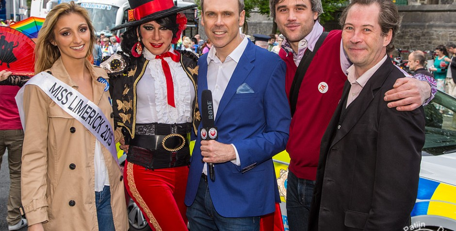 PHOTOS & VIDEO Limerick Pride Parade 2015 hosts another entertaining day