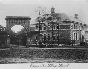 Free talk on history of the Carnegie Building