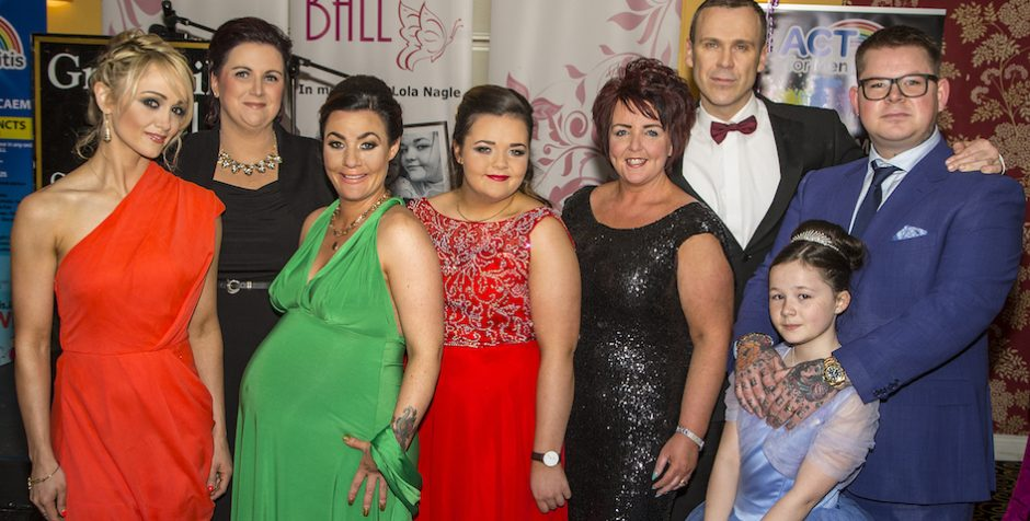 VIDEO – Lolas Ball Act for Meningitis fundraiser is a huge success