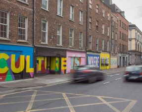 Poetry in Motion as Limerick Paint the Town