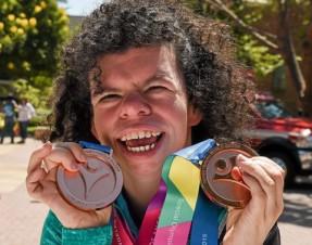 Ashleigh O Hagan success at the Special Olympics World Games