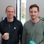 BNest Incubator Programme 2018/2019 was launched on September 5 at the Nexus Innovation Centre in the University of Limerick. Pictured are Danny O'Brien, Limerick City Community Radio, John Noonan, University of Limerick.Picture: Richard Lynch/ilovelimerick