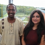 BNest Incubator Programme 2018/2019 was launched on September 5 at the Nexus Innovation Centre in the University of Limerick. Pictured are Alphonse Basogomba, IDEC Ireland, Anushree Gupta, IDEC Ireland. Picture: Richard Lynch/ilovelimerick