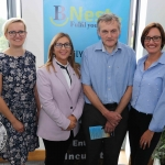 BNest Incubator Programme 2018/2019 is launched on September 5 at the Nexus Innovation Centre in the University of Limerick. Pictured are Kasia Zabinska, BNest, Eamon Ryan, founder BNest, Tracey Lynch, CEO Tait House Community Enterprise and Pauline Gannon, BNest. Picture: ilovelimerick