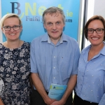 BNest Incubator Programme 2018/2019 is launched on September 5 at the Nexus Innovation Centre in the University of Limerick. Pictured are Kasia Zabinska, Eamon Ryan and Pauline Gannon from BNest. Picture: ilovelimerick