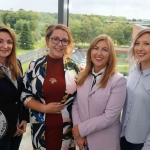 BNest Incubator Programme 2018/2019 was launched on September 5 at the Nexus Innovation Centre in the University of Limerick. Pictured are Tracy Lynch, CEO of Tait House, Simone Dillon, Mr Taits Cafe, Tess Kelly Stack, Tait House, Kelly Fitzgerald, Social Enterprise School's Programme. Picture: Richard Lynch/ilovelimerick