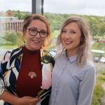 BNest Incubator Programme 2018/2019 was launched on September 5 at the Nexus Innovation Centre in the University of Limerick. Pictured are Tess Kelly Stack, Tait House, Kelly Fitzgerald, Social Enterprise School's Programme. Photo: Richard Lynch/ilovelimerick