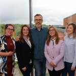 BNest Incubator Programme 2018/2019 was launched on September 5 at the Nexus Innovation Centre in the University of Limerick. Pictured are Tess Kelly Stack, Tait House, Simone Dillon, Mr Taits Cafe, Richard Lynch, founder ilovelimerick, Tracy Lynch, CEO of Tait House and Kelly Fitzgerald, Social Enterprise School's Programme. Picture: Richard Lynch/ilovelimerick