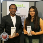 Pictured at the BNest Social Enterprise Incubator Showcase 2019 at Nexus Innovation Centre, UL was Alphonse Basogomba and Anushree Gupta, Buheri Consult. Picture: Conor Owens/ilovelimerick.