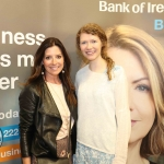 Pictured at the panel discussion for Wellness in the Workplace in Bank of Ireland Limerick are Olivia Buckley, Olivia Buckley International and Katrina O'Donaghue, Get West. Picture: Conor Owens/ilovelimerick.