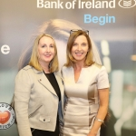 Pictured at the panel discussion for Wellness in the Workplace in Bank of Ireland Limerick are Karena Cahill, ActionPoint and Maria Kelly, Head of BOI Limerick. Picture: Conor Owens/ilovelimerick.