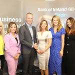 Pictured at the panel discussion for Wellness in the Workplace in Bank of Ireland Limerick are Leanne Moore of Go Gyms, Fitness and Nutrition, Linda Ryan, Financial Wellbeing Coach, motivational speaker Jerry Duffy, Maria Kelly, Head of BOI Limerick and Aoibhin Garrihy, Actress & Co Founder of BEO and Sharon Connellan, Co Founder of BEO. Picture: Conor Owens/ilovelimerick.