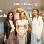 Pictured at the panel discussion for Wellness in the Workplace in Bank of Ireland Limerick are Olivia Buckley, Olivia Buckley International, Maria Kelly, Head of BOI Limerick and Katrina O'Donaghue, Get West. Picture: Conor Owens/ilovelimerick.