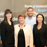 Pictured at the panel discussion for Wellness in the Workplace in Bank of Ireland Limerick are . Picture: Conor Owens/ilovelimerick.
