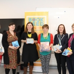 Pictured at the launch of Bookseed in the HSE Primary Health Care Centre is Breda O'Farrell, Public Health Department, Daiden O'Regan, CBI, Elaina Ryan, CBI Director, Anne Hudson, ADPHN, Mary Shanahan, Director of Public Health Nursing and Marie O'Sullivan, PHN. Picture: Orla McLaughlin/ilovelimerick.
