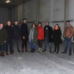 Pictured at the Cleeves Condensed Milk Factory are the cast of the upcoming Limerick Soviet play 'Bread not Profits', including Blake, Shane hickey O'Mara, Ella Daly, Karl Quinn, Conor Mahon, Kit Thompson, Georgina Miller, Lucia Smith, Aiden Crowe, Amy Burke, Charlie Bonner, Martha Quinn and director Terry O'Donovan. Picture: Conor Owens/ilovelimerick.