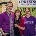 Richard Lynch, ilovelimerick and Bernadette kavanagh, Deirdre Barrett, ADAPT. Picture: Cian Reinhardt/ilovelimerick