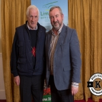 John O'Brien and Eugene Madigan, Colmanswell, were pictured at the Annual Burial Ground Awards in the Woodlands House Hotel, Adare