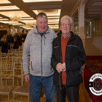 Seamus Murphy and Sean O'Gorman, Kilmeedy, were pictured at the Annual Burial Ground Awards in the Woodlands House Hotel, Adare