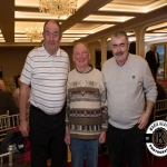 James and Paddy Ryan, Oola, were pictured with Willie Duggan, Kilmallock, at the Annual Burial Ground Awards in the Woodlands House Hotel, Adare